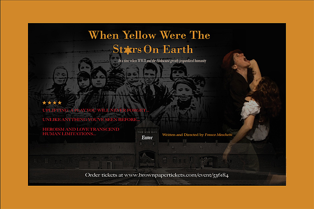 When Yellow Were The Stars On Earth poster